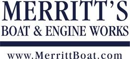 Merritt text logo 280pms