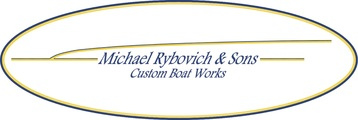 Rybovich and sons boat works logo