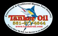 Tanker oil sticker